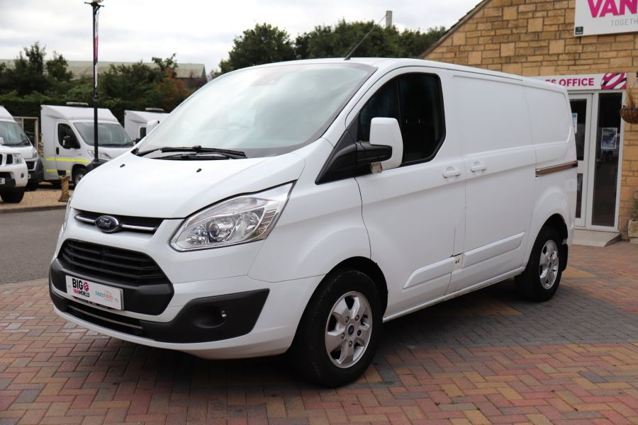 FORD TRANSIT CUSTOM 270 TDCI 130 L1H1 LIMITED SWB LOW ROOF FWD - 11959 - 10
