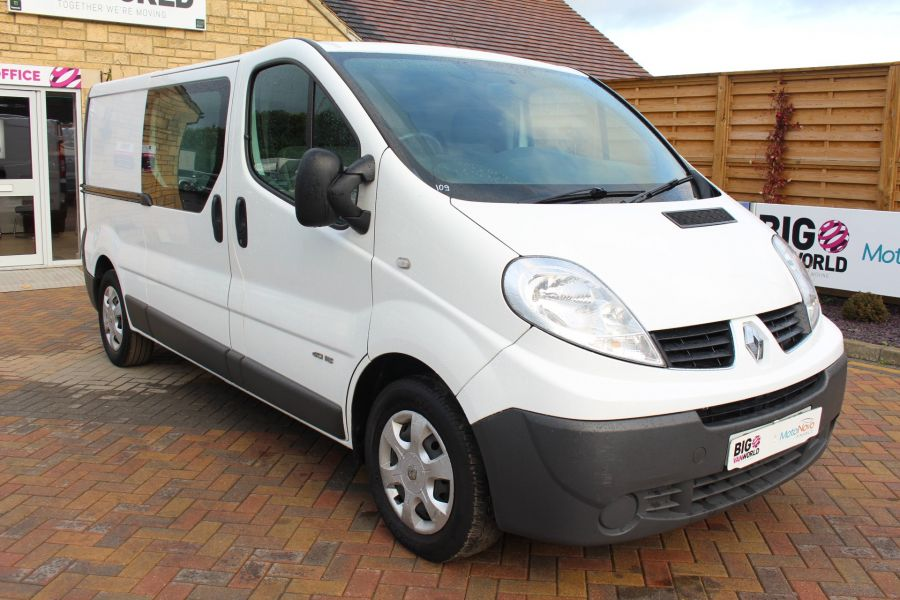 RENAULT TRAFIC LL29 DCI 115 L2 H1 DOUBLE CAB LWB CREW VAN - 6787 - 3