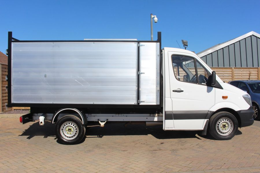 MERCEDES SPRINTER 313 CDI 129 MWB SINGLE CAB NEW BUILD ARBORIST ALLOY TIPPER - 9307 - 13