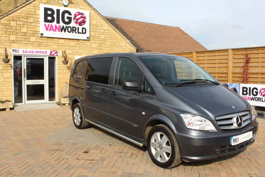 MERCEDES VITO 116 CDI 163 DUALINER COMPACT SPORT SPECIAL EDITION 5 SEAT CREW VAN - 7444 - 2