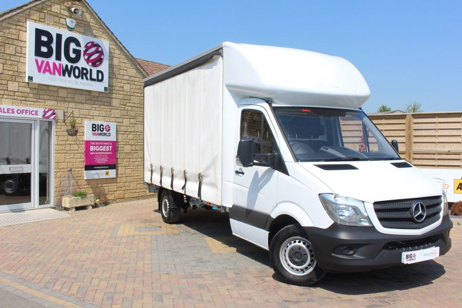 MERCEDES SPRINTER 314 CDI 140 CURTAINSIDER - 7665 - 2