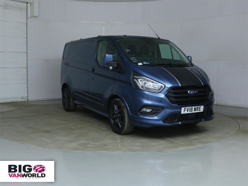 FORD TRANSIT CUSTOM 290 TDCI 170 L1 H1 SPORT SWB LOW ROOF FWD - 8961 - 1