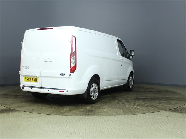 FORD TRANSIT CUSTOM 290 TDCI 155 L1 H1 LIMITED SWB LOW ROOF FWD - 7106 - 2