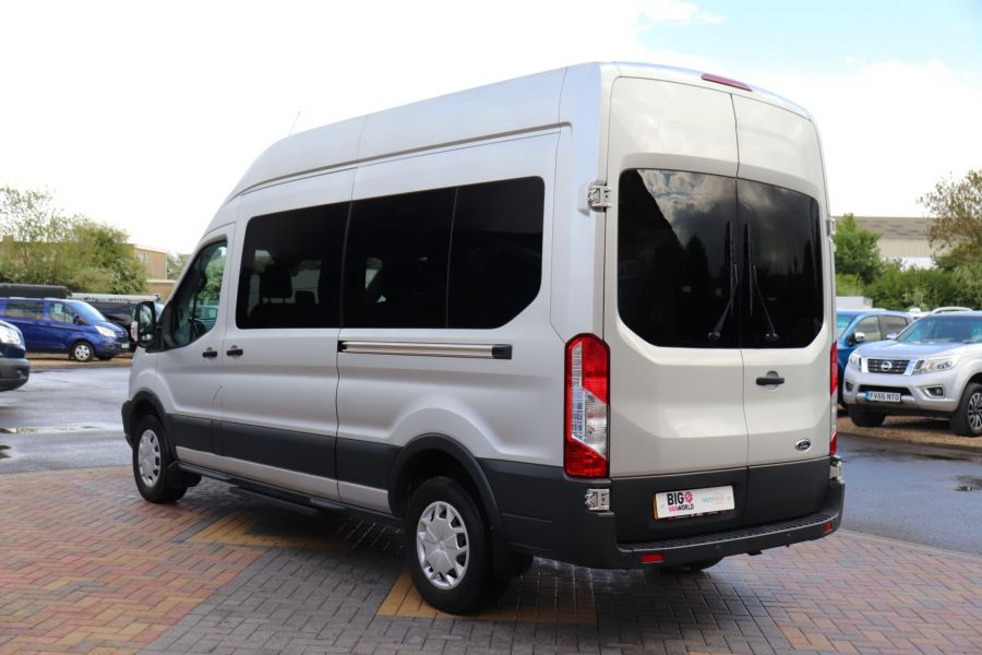 FORD TRANSIT 410 TDCI 155 L3 H3 TREND 15 SEAT BUS LWB HIGH ROOF RWD - 9126 - 8