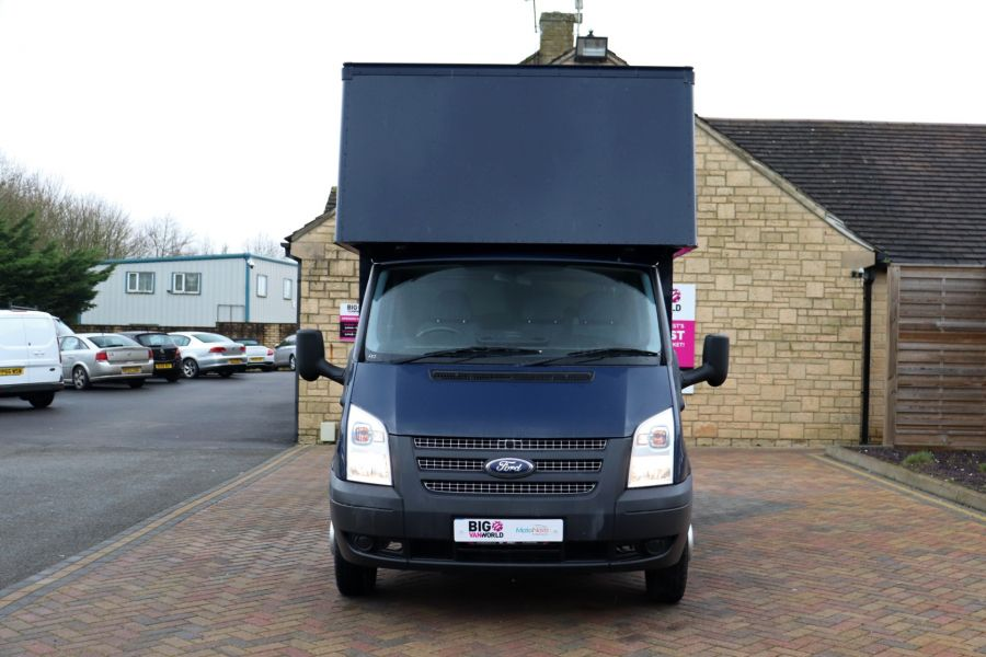 FORD TRANSIT 350 TDCI 100 MWB EXTRA HIGH LUTON BODY WITH TAIL LIFT DRW RWD - 10491 - 11