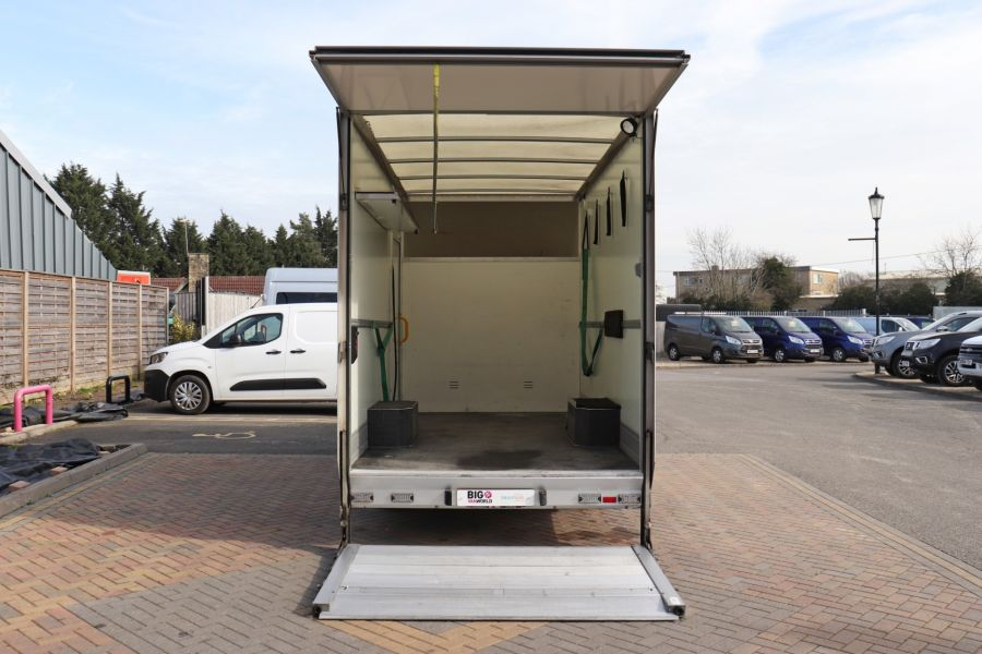 RENAULT TRUCKS MASTER LL35 DCI 130 L3 BUSINESS LWB LOW LOADER PLATFORM CAB WITH TAIL LIFT  (13904) - 12214 - 4