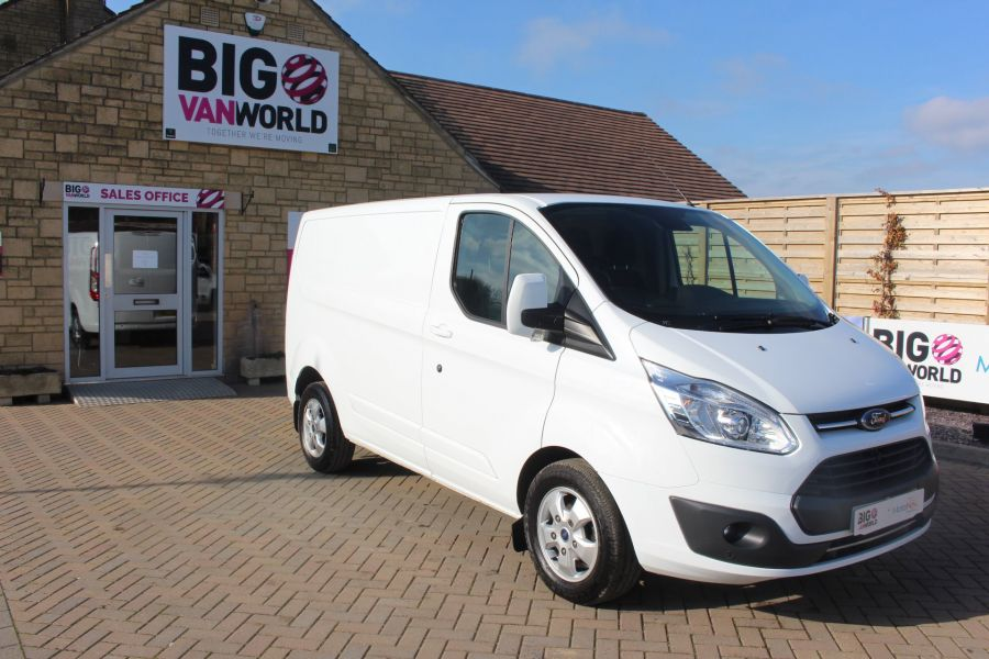 FORD TRANSIT CUSTOM 290 TDCI 170 L1 H1 LIMITED SWB LOW ROOF - 8843 - 3