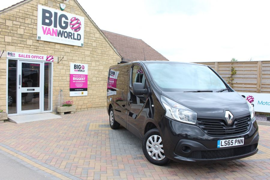 RENAULT TRAFIC SL27 DCI 115 BUSINESS PLUS SWB LOW ROOF - 9213 - 1