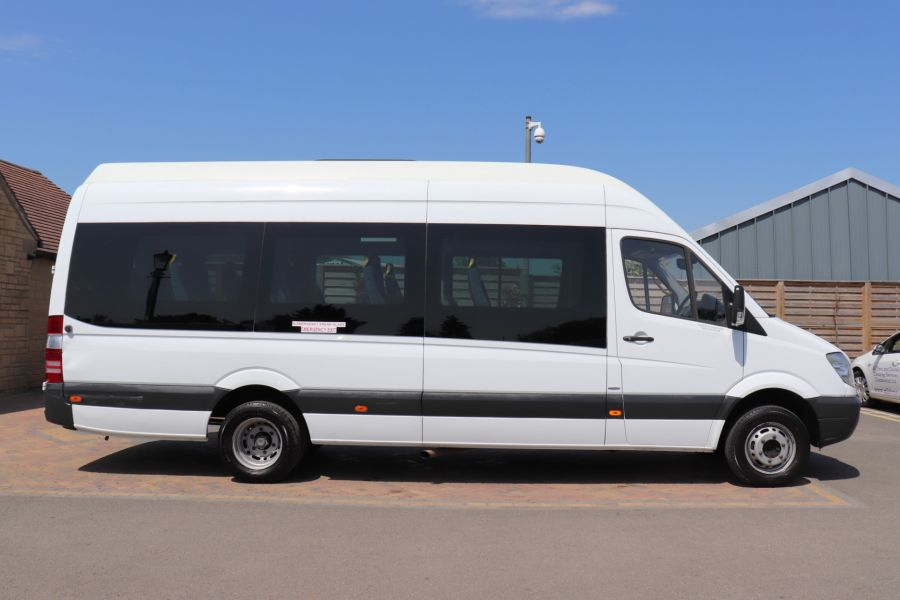 MERCEDES SPRINTER 513 CDI 129 XLWB EXTRA HIGH ROOF 15 SEAT BUS WITH WHEELCHAIR ACCESS - 9801 - 5