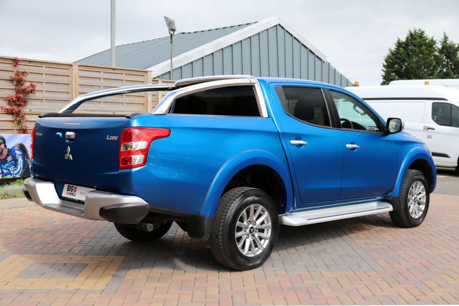 MITSUBISHI L200 DI-D 178 4WD WARRIOR DOUBLE CAB WITH ROLL'N'LOCK TOP - 11123 - 6