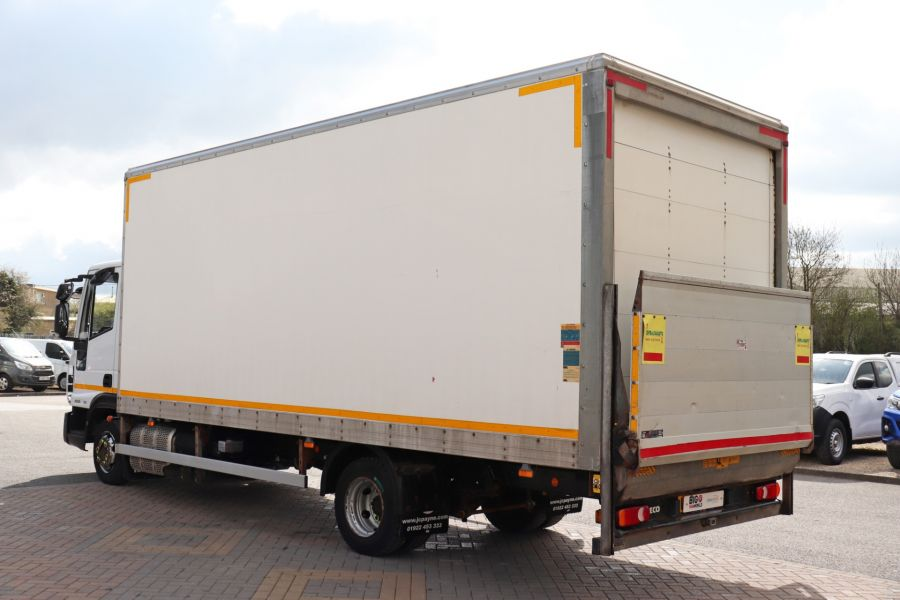 IVECO EUROCARGO  75E16S 4X2 GRP BOX WITH TAIL LIFT  (13925) - 12206 - 10