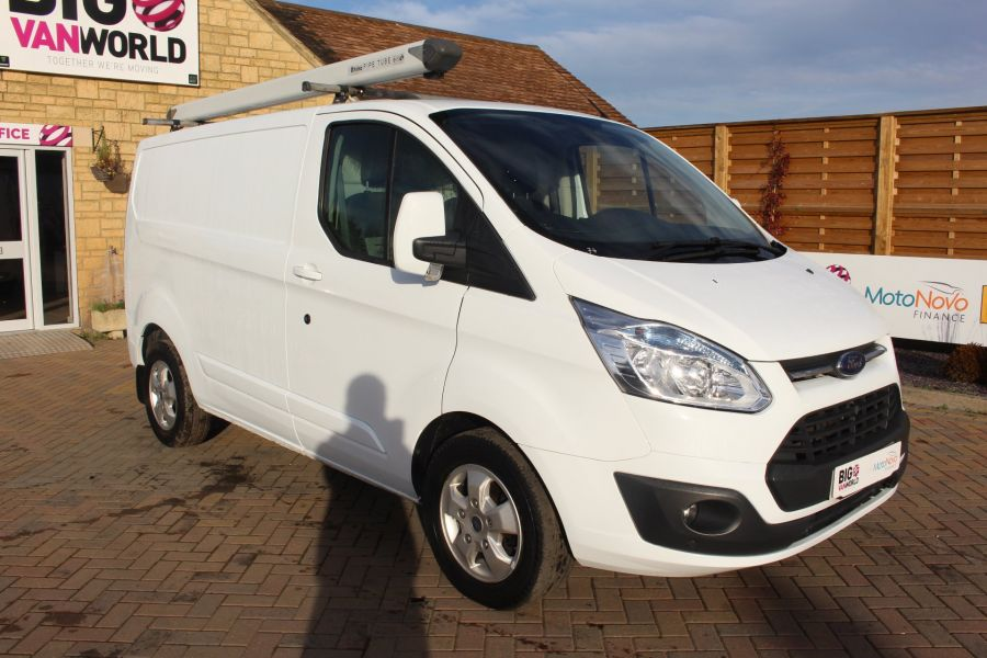 FORD TRANSIT CUSTOM 290 TDCI 125 L1 H1 LIMITED SWB LOW ROOF FWD - 6858 - 3
