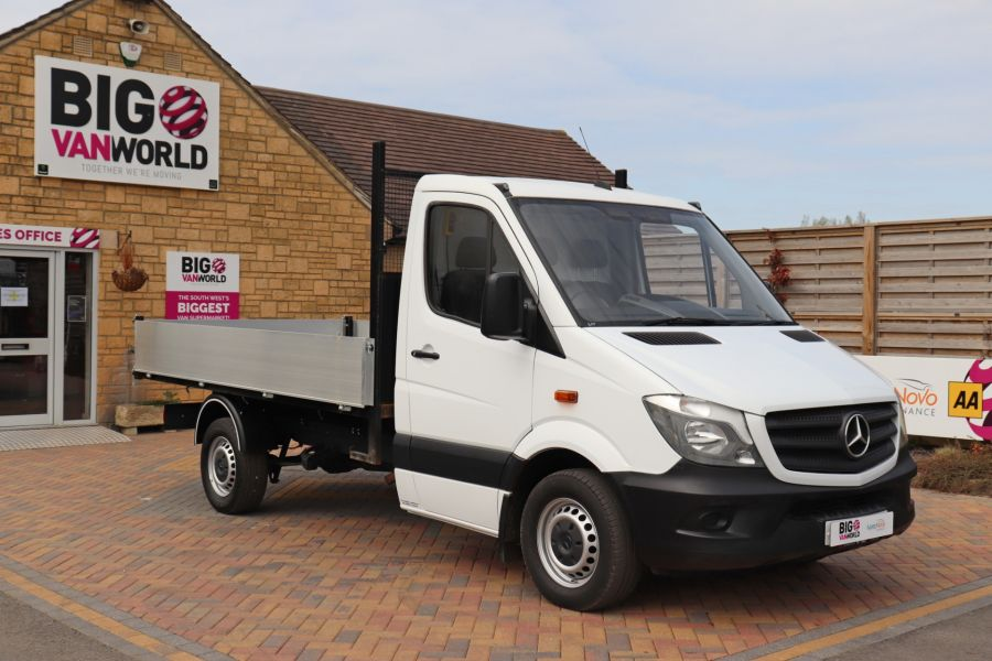 MERCEDES SPRINTER 313 CDI 129 MWB SINGLE CAB NEW BUILD ALLOY TIPPER - 10929 - 4