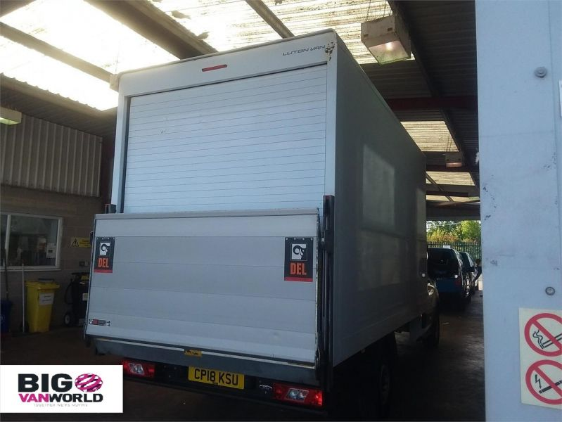 FORD TRANSIT 350 TDCI 130 L4 'ONE STOP' LUTON WITH TAIL LIFT - 10128 - 2