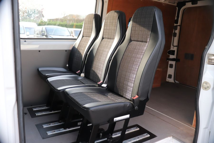 MERCEDES SPRINTER 313 CDI 129 MWB DOUBLE CAB 6 SEAT CREW VAN LOW ROOF - 11824 - 35