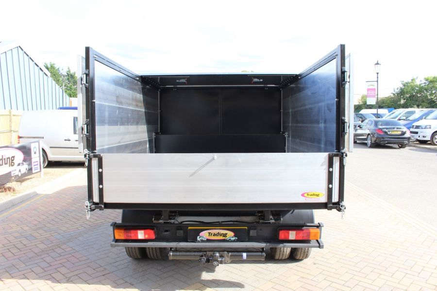 FORD TRANSIT 350 MWB SINGLE CAB HIGH SIDED ARBORIST ALLOY TIPPER - 6153 - 11
