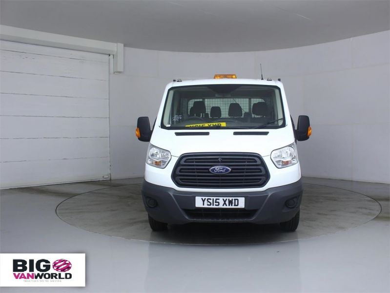 FORD TRANSIT 350 TDCI 125 L3 DOUBLE CAB 'ONE STOP' ALLOY TIPPER DRW - 7214 - 7