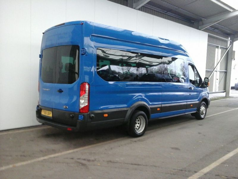 FORD TRANSIT 460 TDCI 125 L4 H3 TREND 17 SEAT BUS HIGH ROOF DRW RWD - 8681 - 2