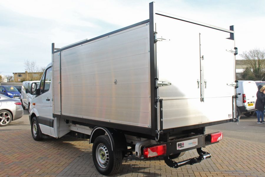 MERCEDES SPRINTER 313 CDI 129 MWB SINGLE CAB NEW BUILD ARBORIST ALLOY TIPPER - 10501 - 15