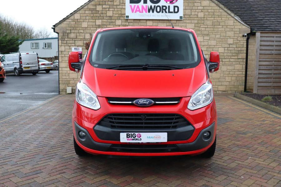 FORD TRANSIT CUSTOM 290 TDCI 125 L1H1 LIMITED SWB LOW ROOF FWD - 11904 - 13