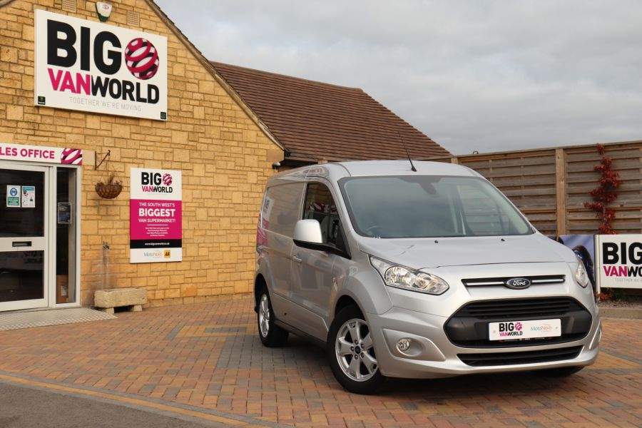 FORD TRANSIT CONNECT 200 TDCI 120 L1H1 LIMITED SWB LOW ROOF - 11222 - 1
