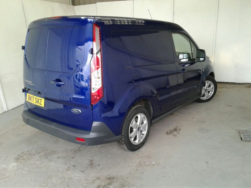FORD TRANSIT CONNECT 200 TDCI 120 L1 H1 LIMITED SWB LOW ROOF - 9218 - 2