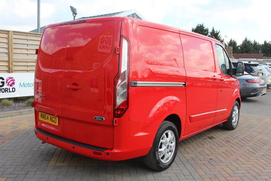 FORD TRANSIT CUSTOM 290 TDCI 125 L1 H1 LIMITED SWB LOW ROOF FWD - 9115 - 5