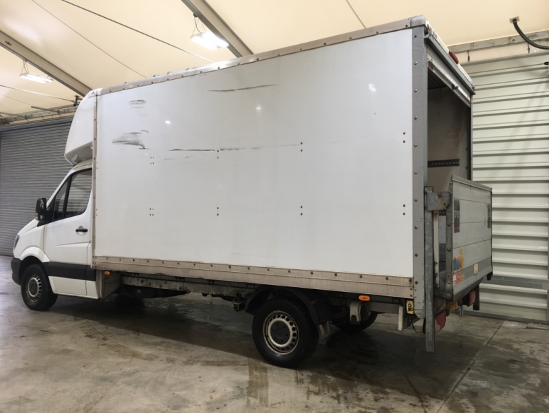 MERCEDES SPRINTER 313 CDI 129 LWB LUTON WITH TAIL LIFT - 10752 - 5