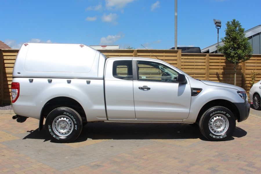 FORD RANGER XL 4X4 TDCI 150 SUPER CAB WITH TRUCKMAN TOP - 6276 - 4