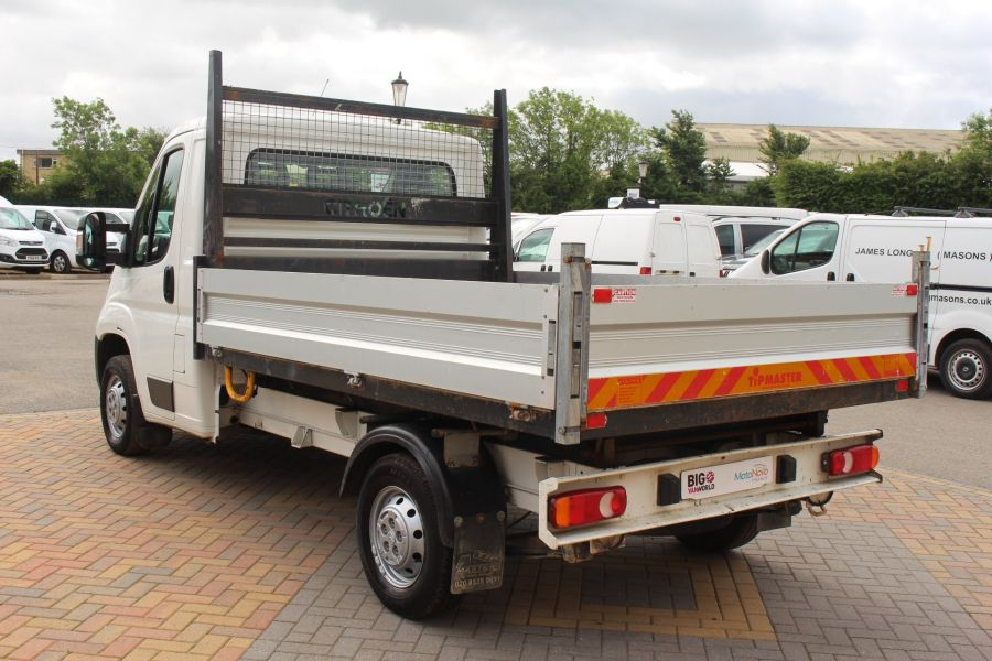 CITROEN RELAY 35 HDI 130 MWB L2 SINGLE CAB ALLOY TIPPER - 6202 - 15