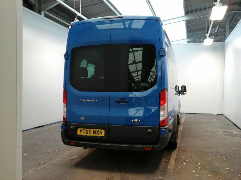 FORD TRANSIT 460 TDCI 125 L4 H3 TREND 17 SEAT BUS HIGH ROOF DRW RWD - 8682 - 3