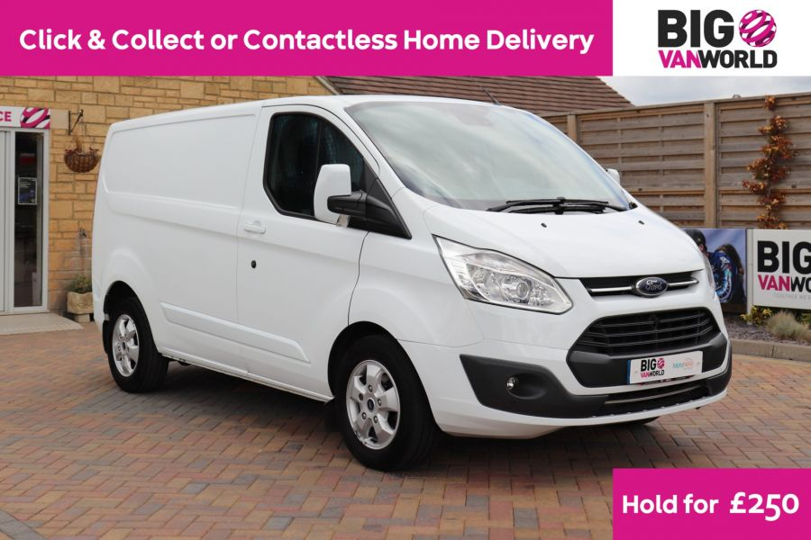 FORD TRANSIT CUSTOM 310 TDCI 130 L1H1 LIMITED SWB LOW ROOF - 11931 - 1