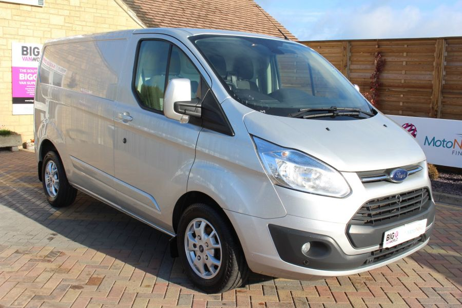 FORD TRANSIT CUSTOM 270 TDCI 125 L1 H1 LIMITED SWB LOW ROOF FWD - 7620 - 1