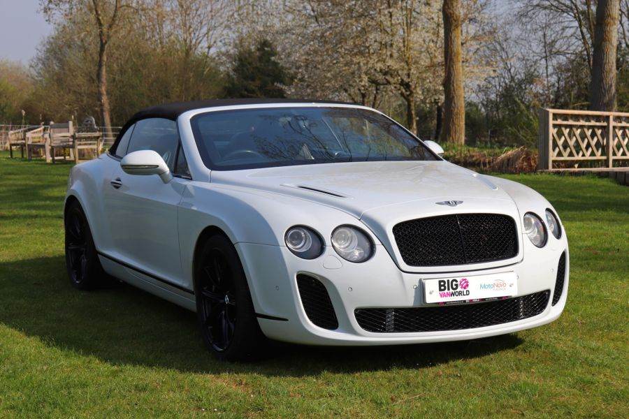 BENTLEY CONTINENTAL GTC SUPERSPORTS - 10504 - 13