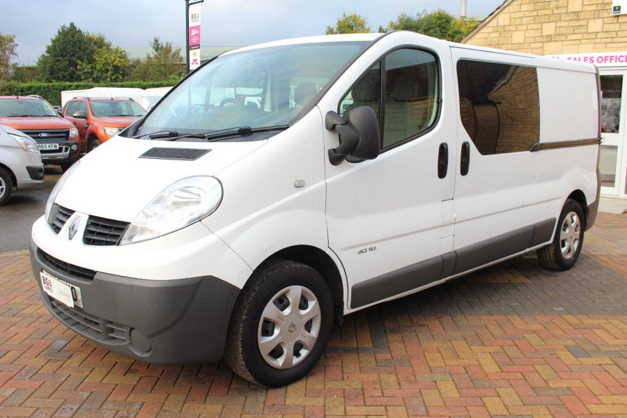 RENAULT TRAFIC LL29 DCI 115 L2 H1 DOUBLE CAB LWB CREW VAN - 6787 - 8