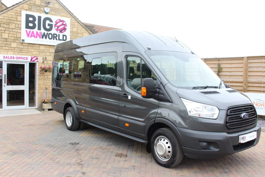 FORD TRANSIT 460 TDCI 155 L4 H3 17 SEAT BUS HIGH ROOF DRW RWD - 8132 - 3