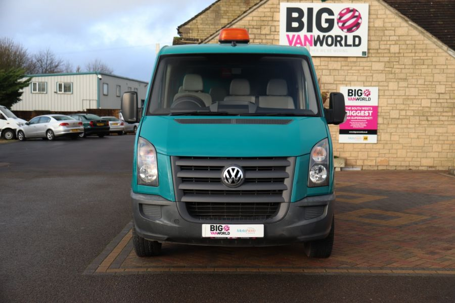 VOLKSWAGEN CRAFTER CR35 TDI 109 LWB 7 SEAT DOUBLE CAB ALLOY TIPPER - 9967 - 21
