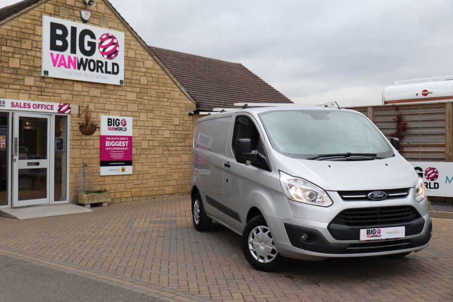 FORD TRANSIT CUSTOM 290 TDCI 130 L1H1 TREND SWB LOW ROOF FWD - 10465 - 1
