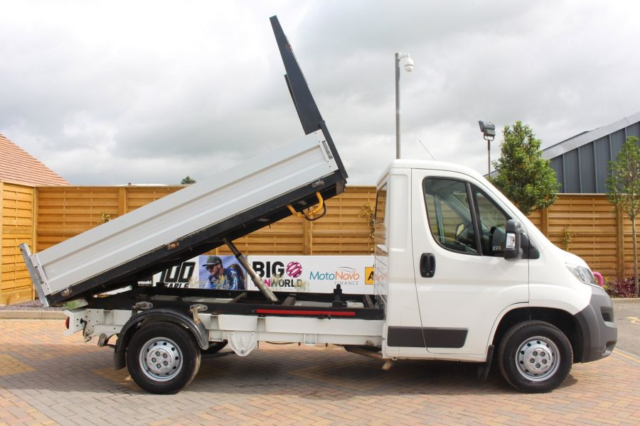 CITROEN RELAY 35 HDI 130 MWB L2 SINGLE CAB ALLOY TIPPER - 6202 - 4