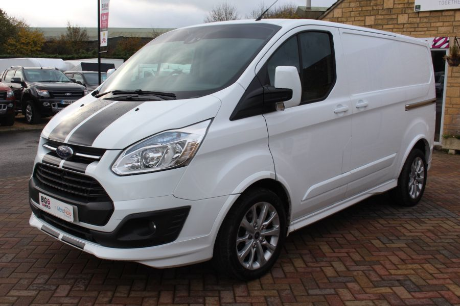 FORD TRANSIT CUSTOM 290 TDCI 155 L1 H1 SPORT SWB LOW ROOF FWD - 7036 - 8