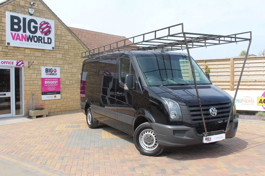 VOLKSWAGEN CRAFTER CR35 TDI 136 MWB STANDARD LOW ROOF - 9093 - 2