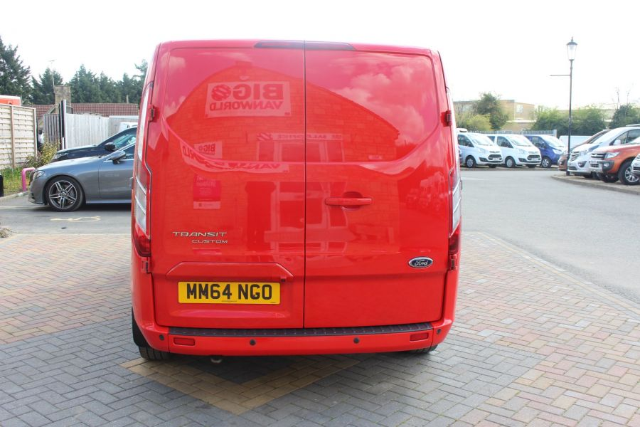 FORD TRANSIT CUSTOM 290 TDCI 125 L1 H1 LIMITED SWB LOW ROOF FWD - 9115 - 6