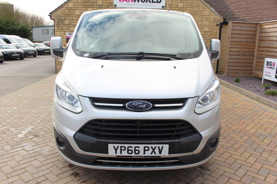 FORD TRANSIT CUSTOM 290 TDCI 170 L1 H1 LIMITED DOUBLE CAB 6 SEAT CREW VAN SWB LOW ROOF FWD  - 8973 - 9