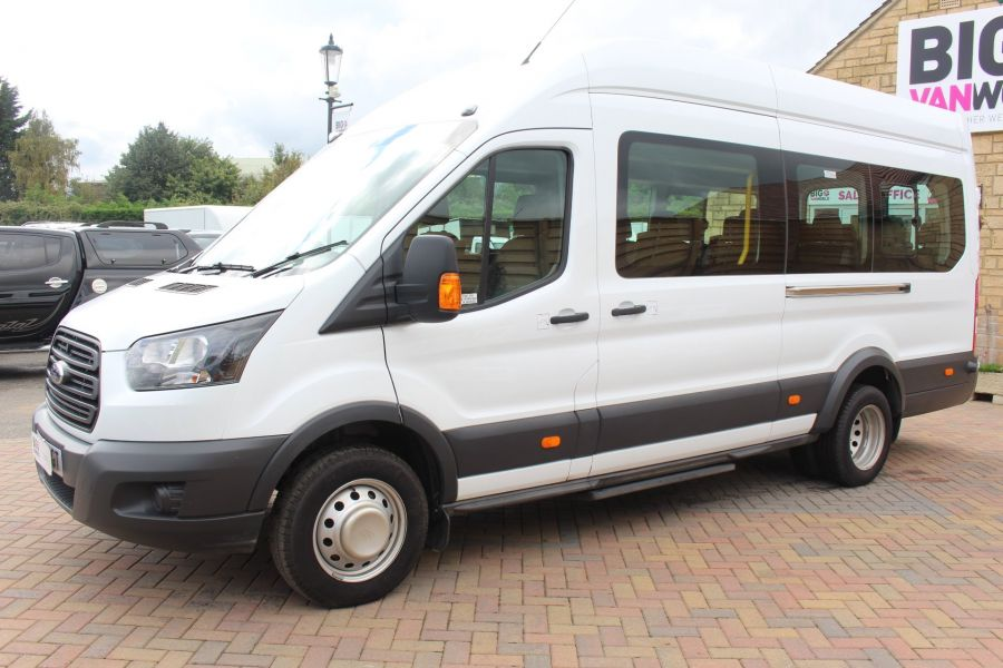 FORD TRANSIT 460 TDCI 125 L4 H3 LWB HIGH ROOF 17 SEAT BUS RWD - 6608 - 8