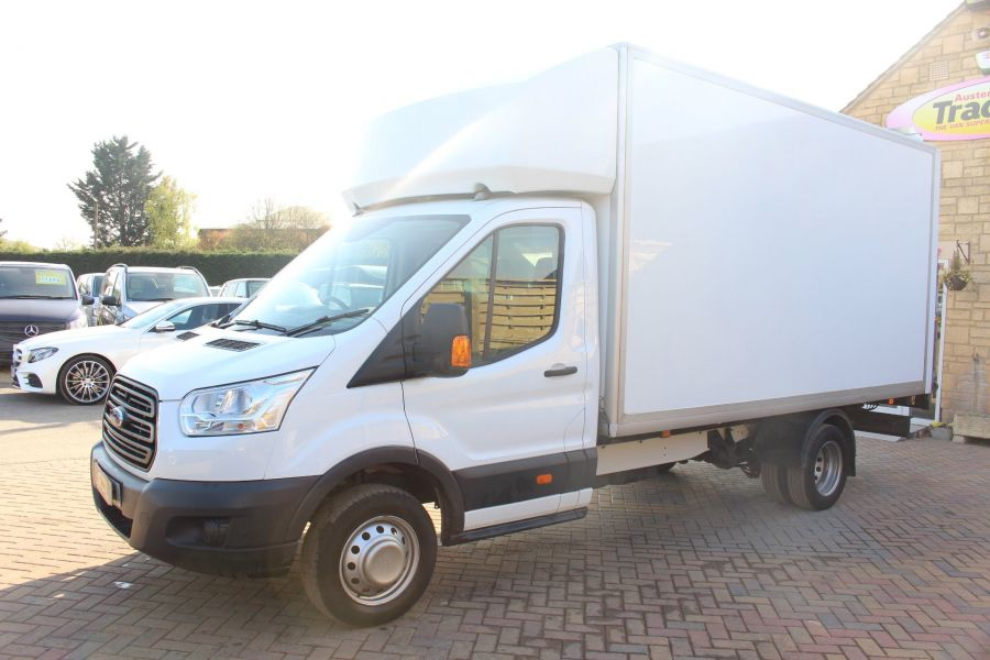 FORD TRANSIT 350 TDCI 125 DRW L4 LUTON WITH TAIL LIFT - 5940 - 6