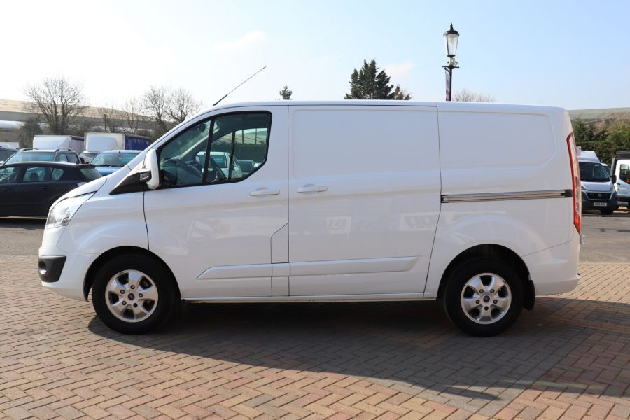 FORD TRANSIT CUSTOM 340 TDCI 130 L1H1 LIMITED SWB LOW ROOF FWD - 10566 - 9