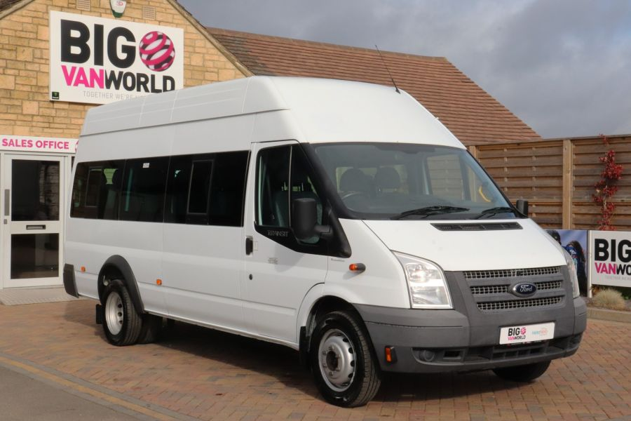 FORD TRANSIT 430 TDCI 135 EL LWB 17 SEAT BUS WITH WHEELCHAIR ACCESS HIGH ROOF DRW RWD - 9665 - 2
