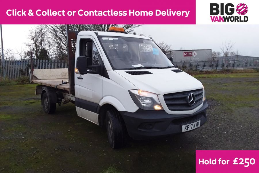 MERCEDES SPRINTER 314 CDI 140 MWB SINGLE CAB 'ONE STOP' ALLOY TIPPER  (13721) - 12170 - 1