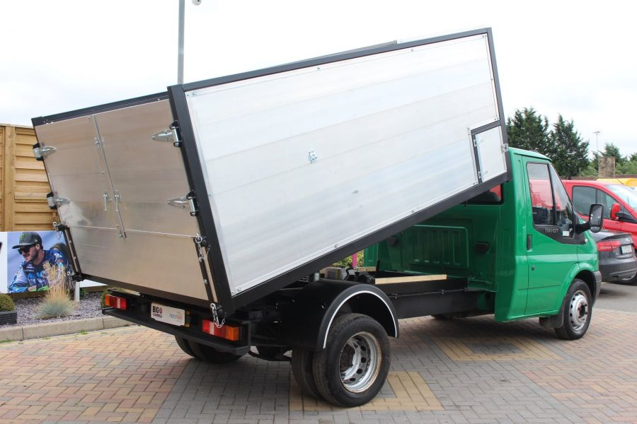 FORD TRANSIT 350 TDCI MWB SINGLE CAB NEW ALLOY ARBORIST TIPPER - 6565 - 5