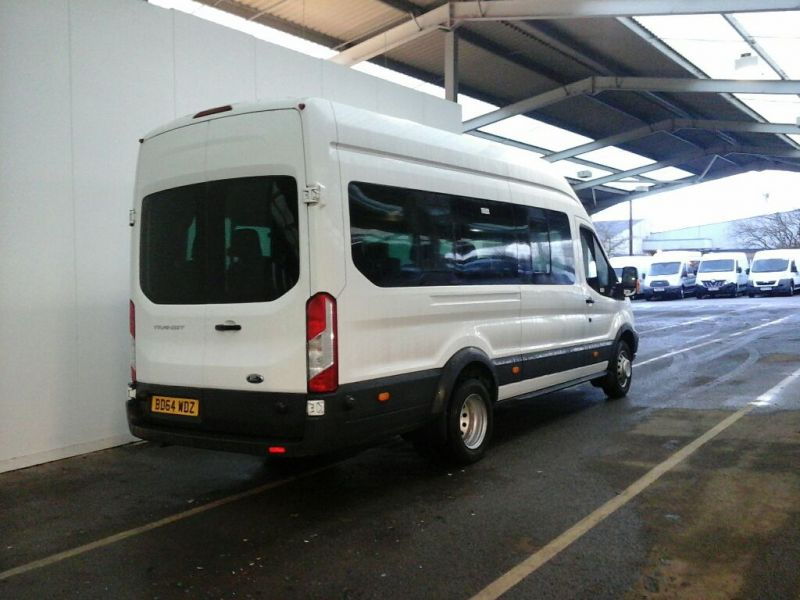 FORD TRANSIT 460 TDCI 125 L4H3 TREND 17 SEAT HIGH ROOF BUS DRW RWD - 10348 - 2